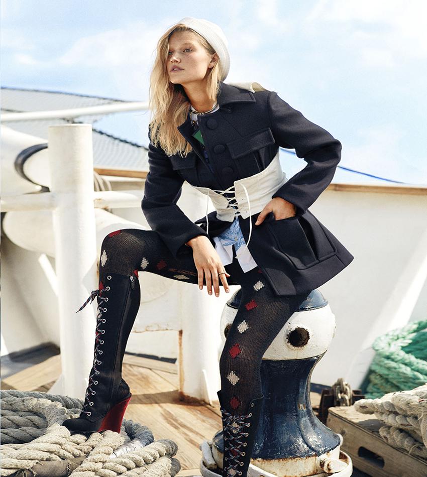 Toni Garrn - Harper's Bazaar US (October 2016)