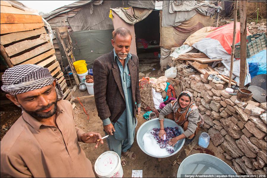 Пакистанские трущобы