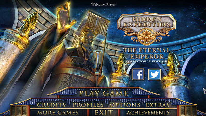 لعبة Hidden Expedition: Eternal Emperor