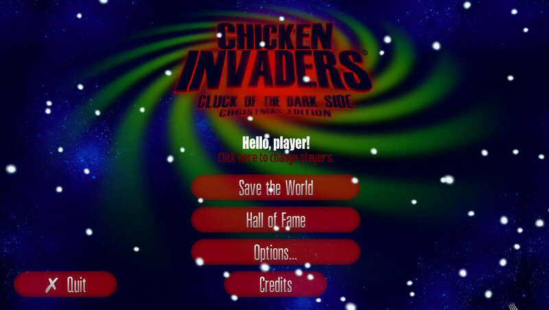 Chicken Invaders 5: Cluck of the Dark Side Christmas Edition