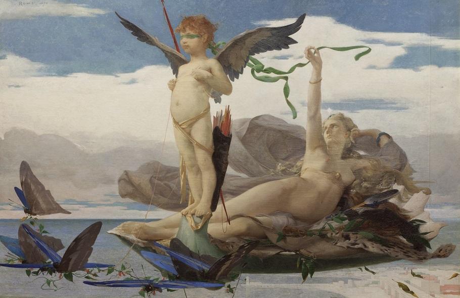 Édouard Toudouze, Eros e Afrodite, 1872.jpg
