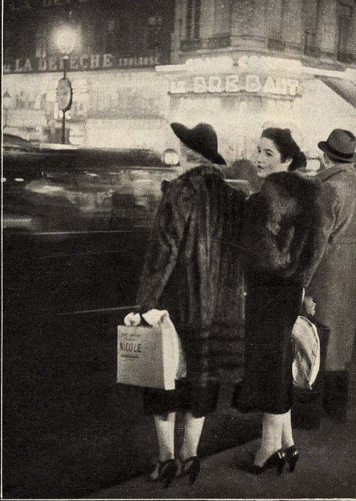 1932. Девушки вечерних улиц