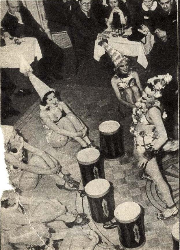 1938. Представление в Кабаре