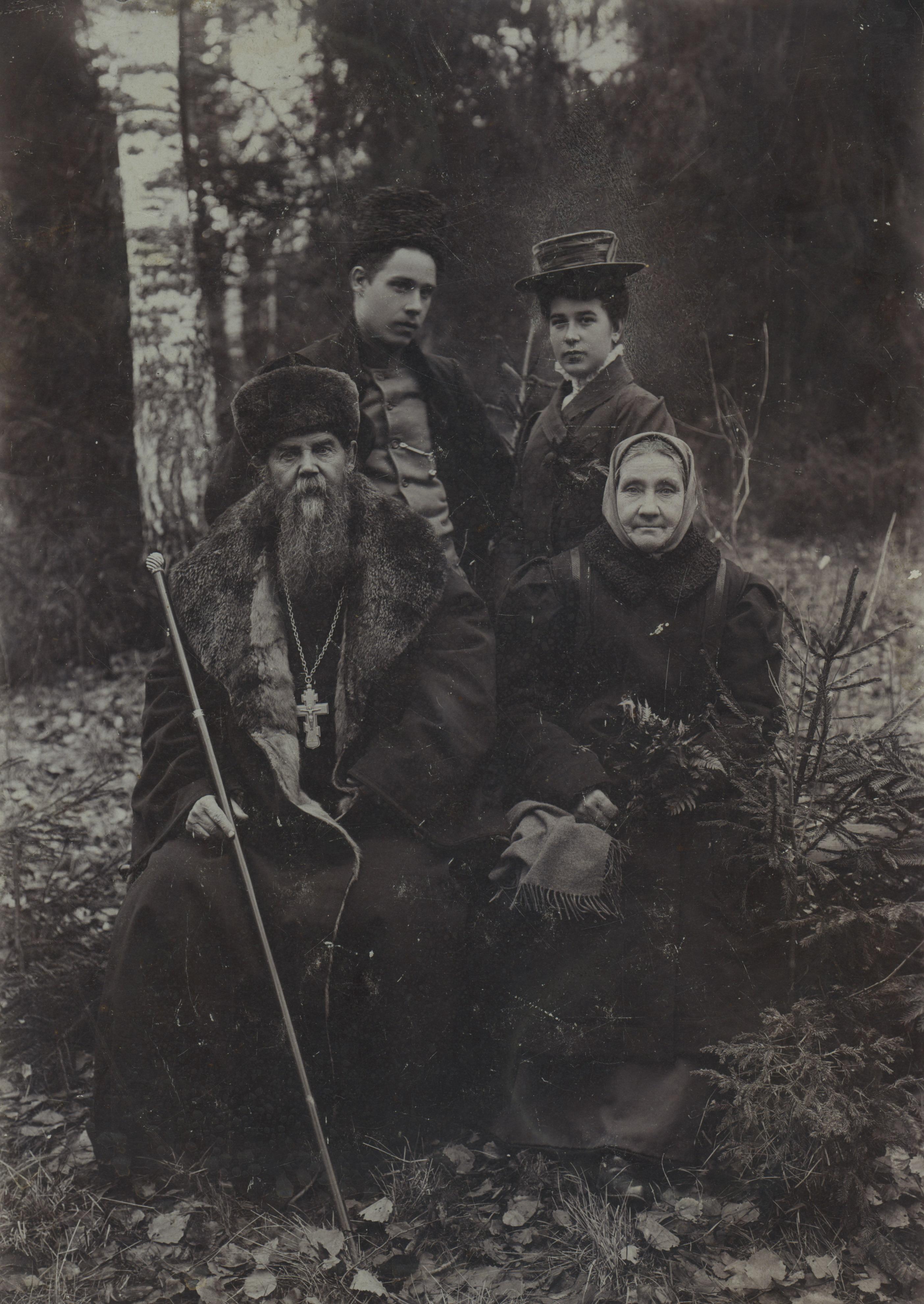 Семья священника Полисадова. Муром, 1910