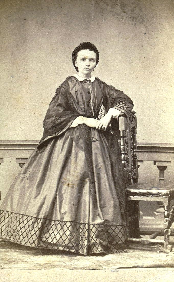 Портрет неизвестной женщины. 1850-1860