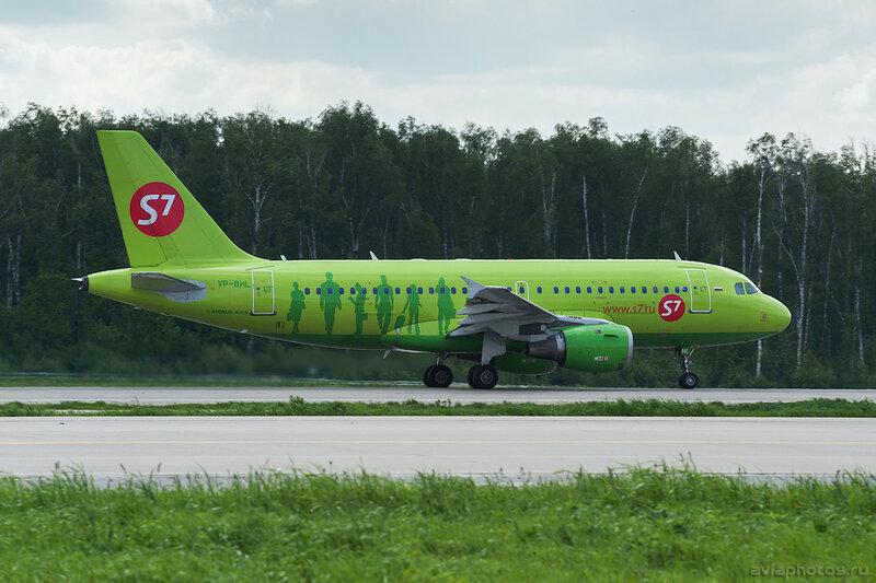 Airbus A319-114 (VP-BHL) S7 051_D701794