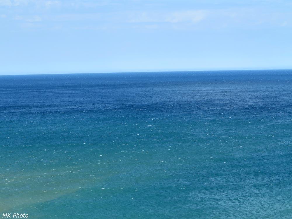 Вид на море с горки