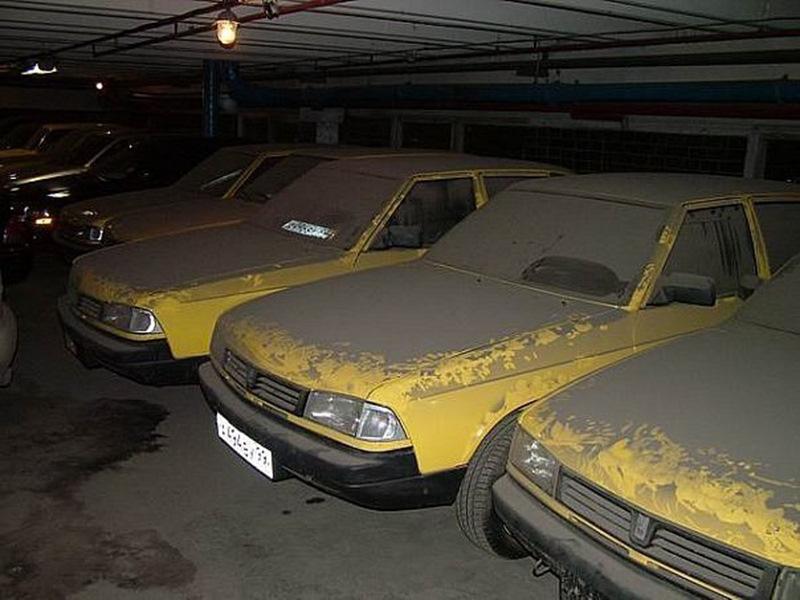 В таксомоторном парке обнаружили партию законсервированных «Москвичей»
