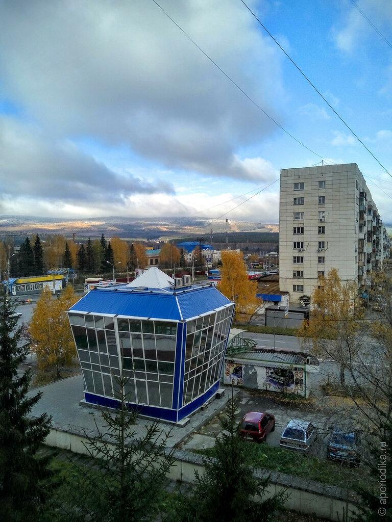 Первый снег в Златоусте