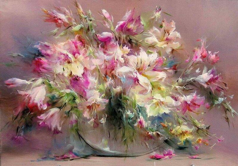 Владимир Бабич. Она любит простые ромашки и охапки из бархатных роз!