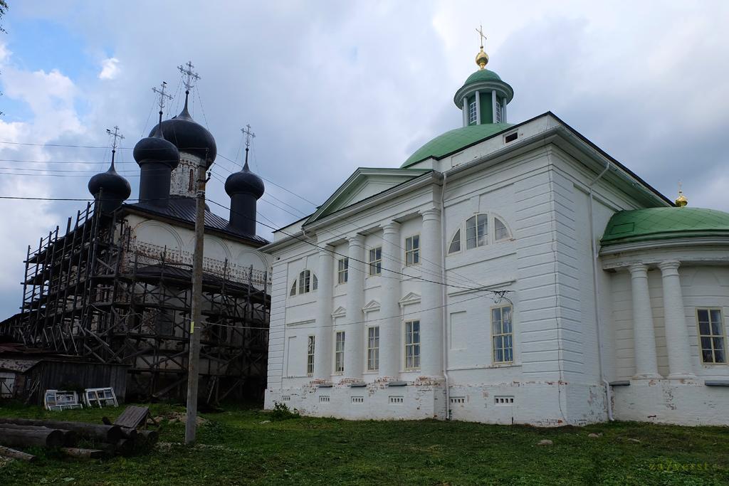 Горицкий Воскресенский монастырь в Вологодской области, восстановление храма