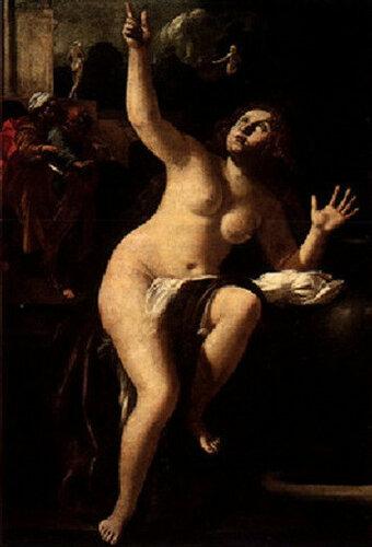 Giovanni Baglione (1566 – 1643, Italian) Сусанна и Старцы