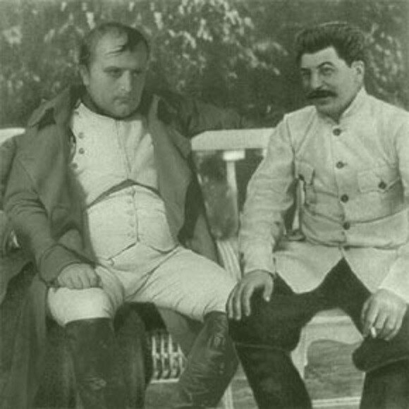 contrast between napoleon and stalin The similarities and differences between benito mussolini and josef stalin.
