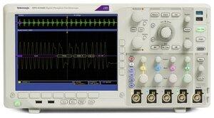 Осциллограф цифровой DPO4104B-L - передняя панель