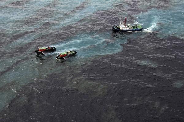 В Мексиканский залив с объекта Shell вылилось 337 тыс. кубометров нефти