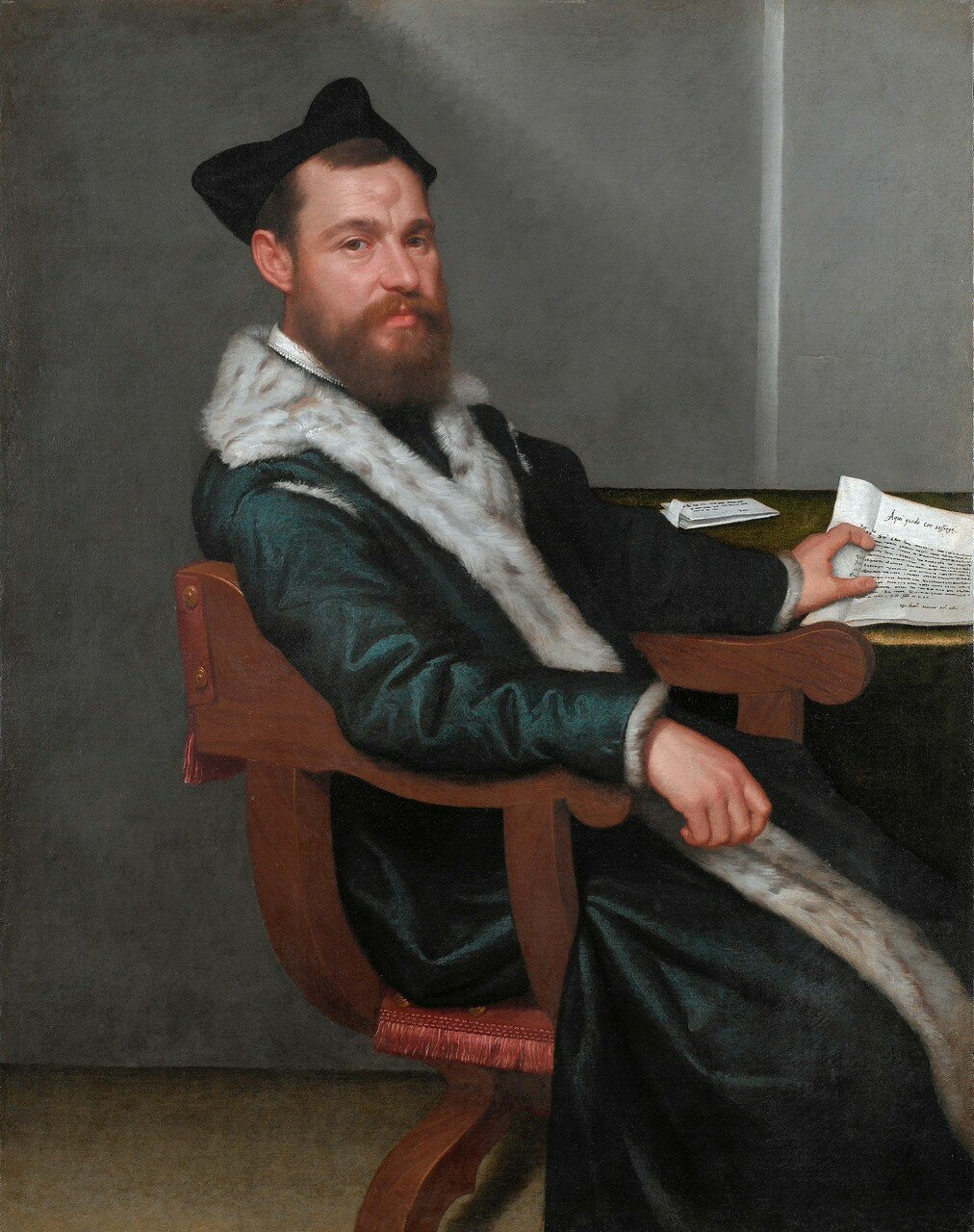 The magistrate, by Giovanni Battista Moroni
