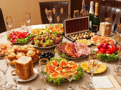 Про новогодний стол без деликатесов