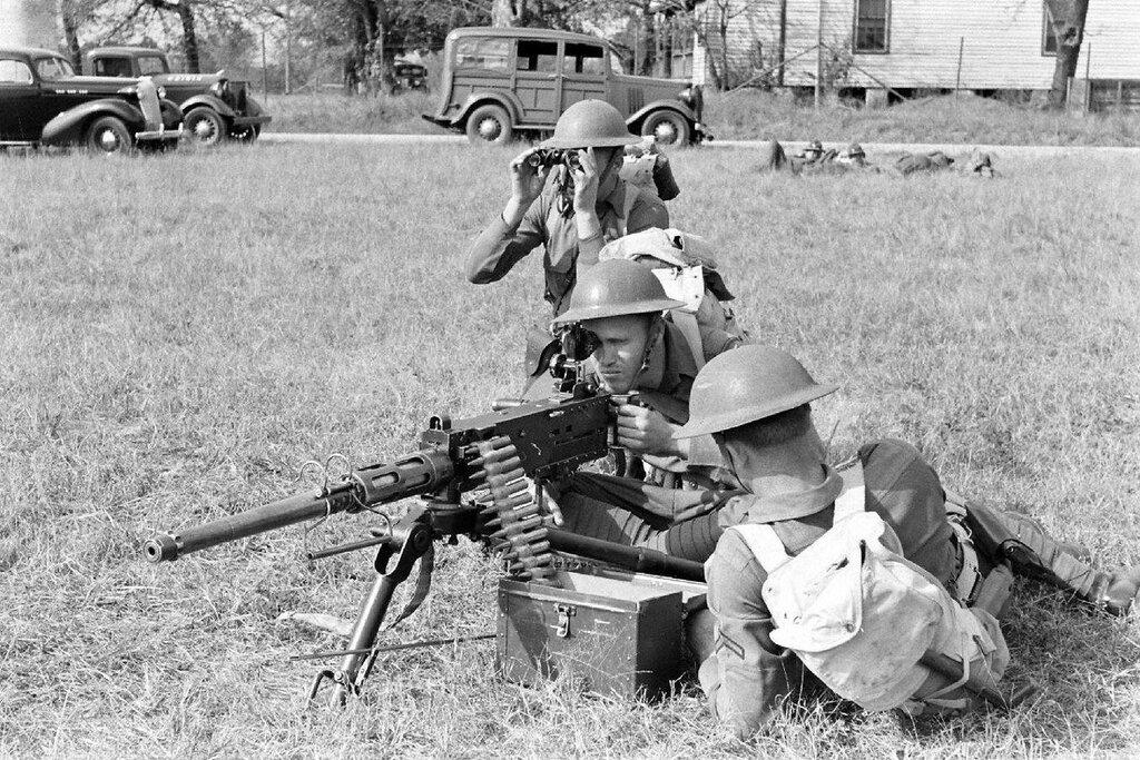 NATIONAL DEFENSE - USA - 1938