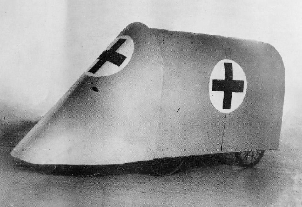 Немецкий экскаватор для рытья траншей, 8 января 1918. (Фото San Diego Air and Space Museum Arch