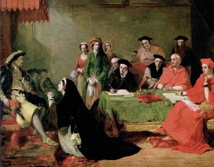 Но Генриху VIII нужен был наследник, поэтому он попытался надавить на Папу Римского, чтобы тот призн