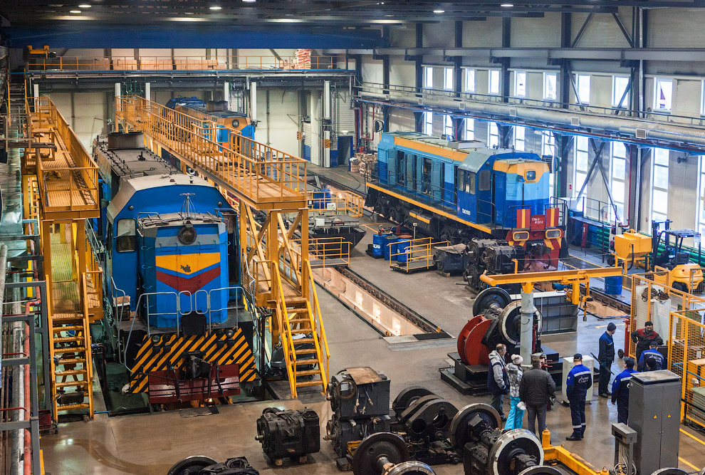3. Самая северная в мире железная дорога «Обская — Бованенково — Карская». Станция Обская имеет