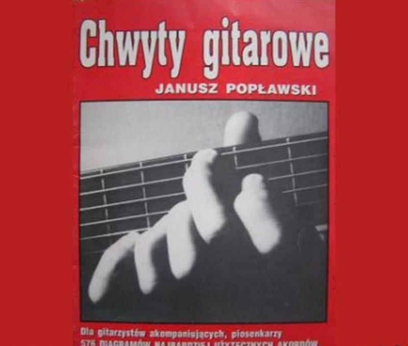 Шестипалый гитарист На этой рекламе изображен польский гитарист Януш Поплавски, а точнее, его рука.