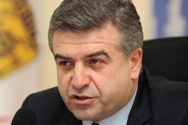 Премьер-министры Армении и РФ побеседовали потелефону