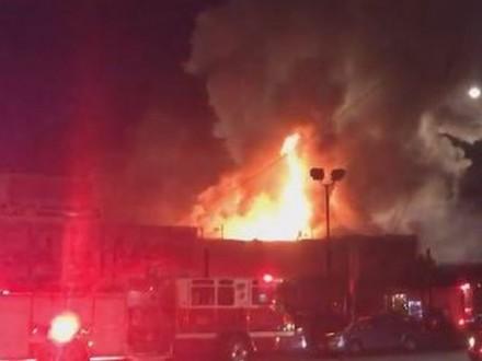 Вночном клубе США произошел пожар, необошлось без жертв