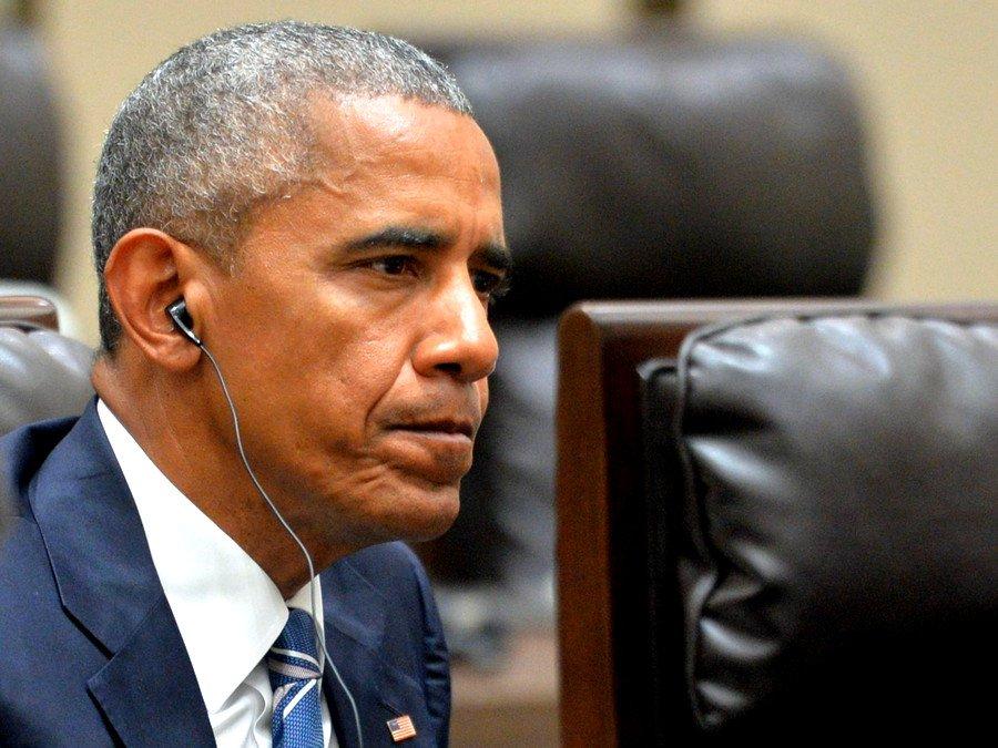 Барак Обама уже простился сармией США