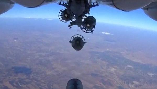 США разбомбили базу сирийских правительственных войск
