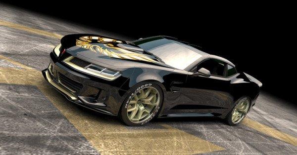 Шевроле Camaro оборудовали 1000-сильным двигателем