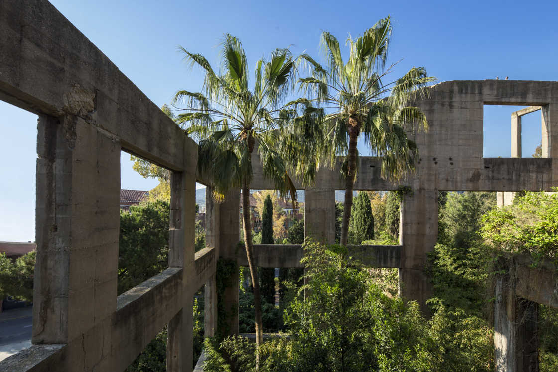 He transforms an old cement factory into an incredible place of life