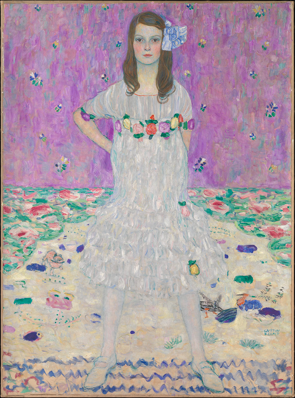 Mada Primavesi. Gustav Klimt, 1912–13. Oil on canvas.