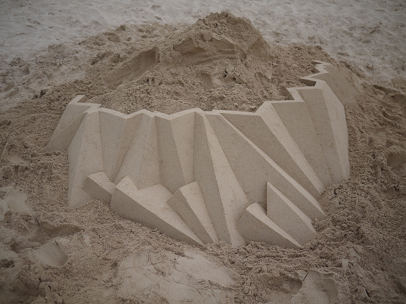Geometric Sandcastles from Calvin Seibert