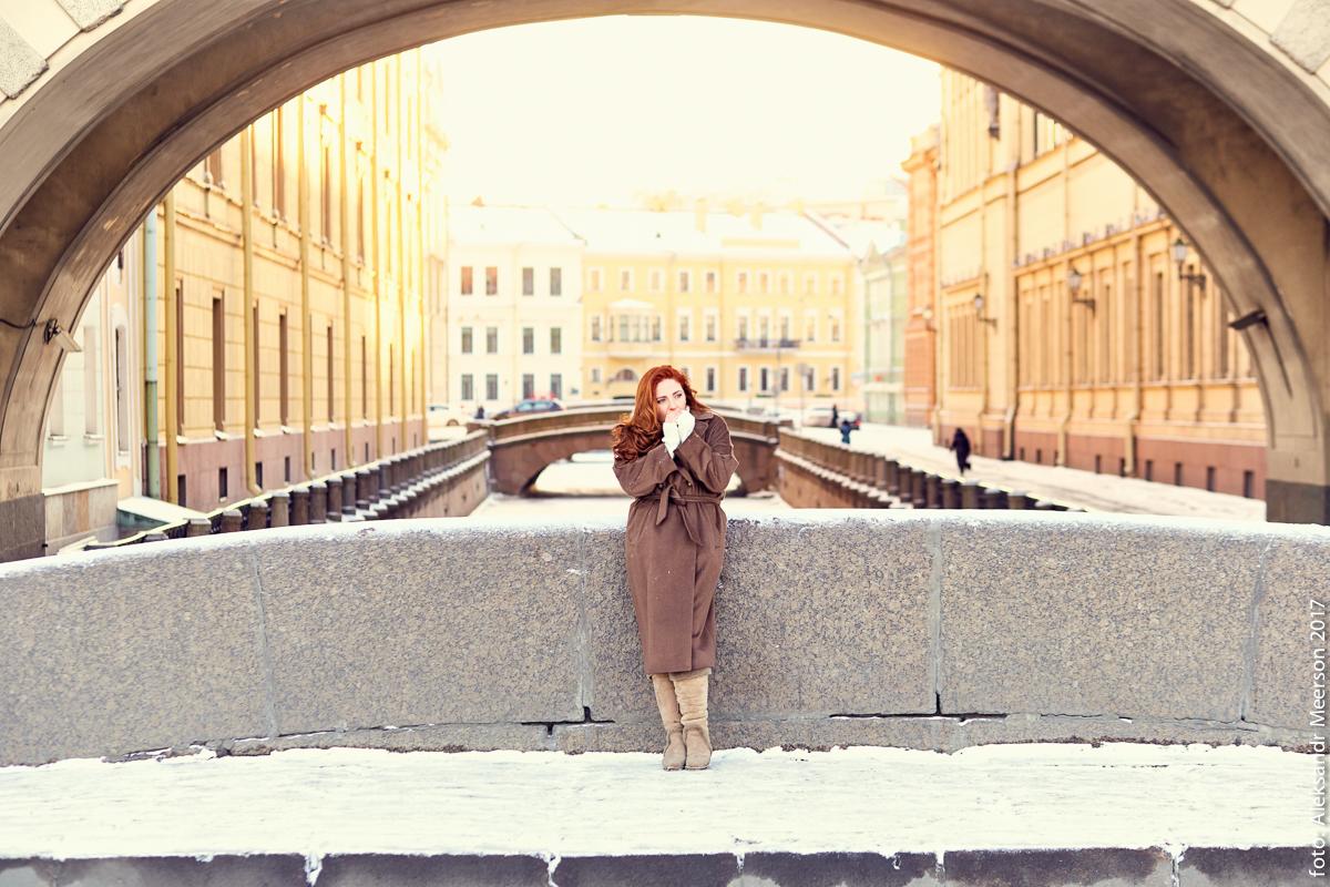 Фотосессия на улицах питера