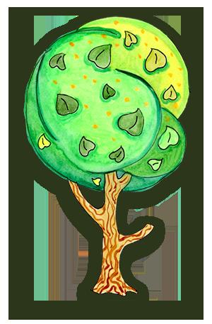 Дерево - Липа С обработкой в Photoshop-е