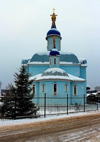Церковь Иконы Божией Матери Нечаянная Радость в Мамонтовке