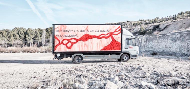 Truck Art Project - When street art invites itself on transport trucks