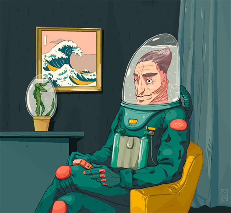 Illustrations by Roman & Elina Novak