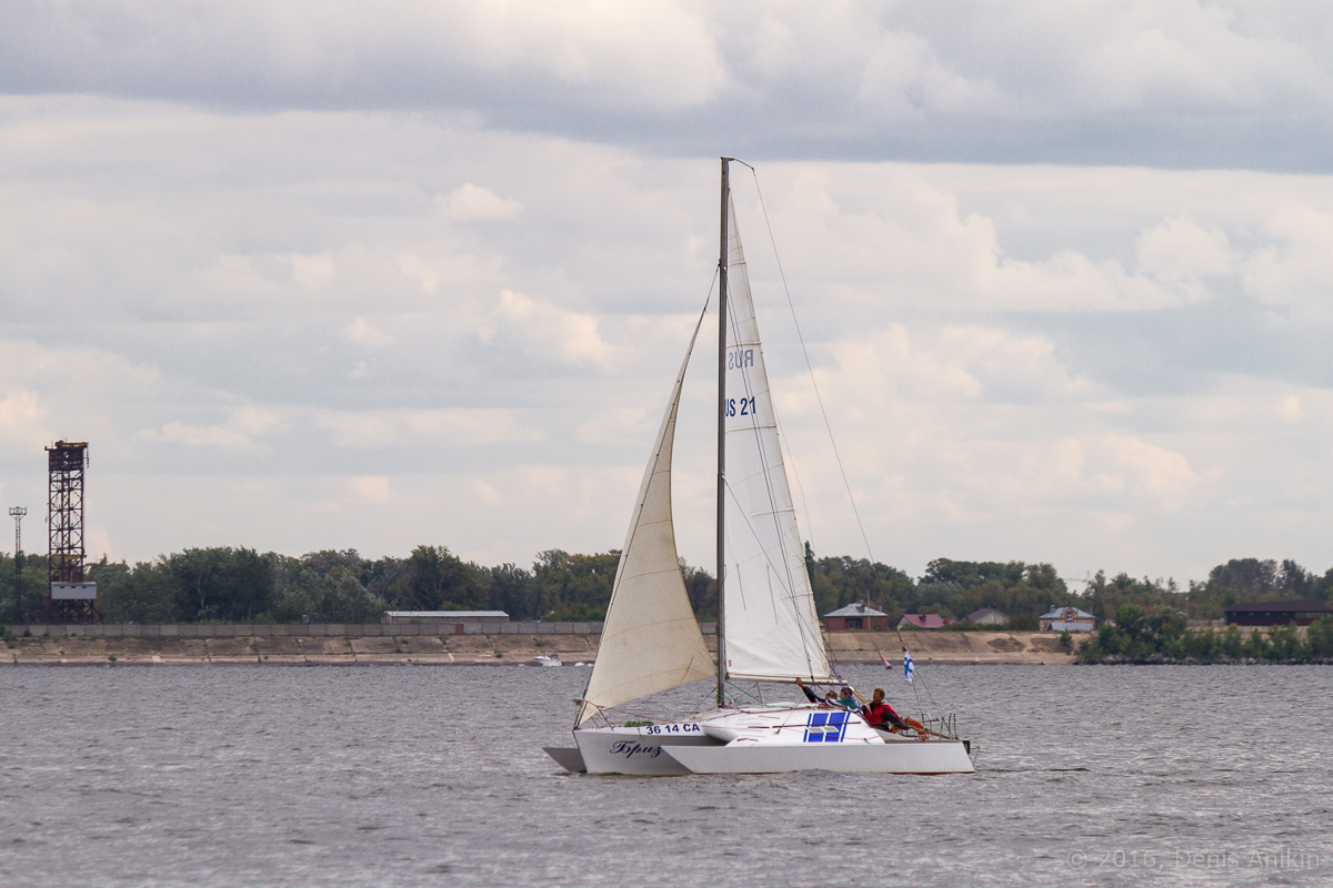 Яхты на Волге 18