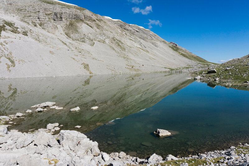 пересыхающее озеро Тимфи (xerolimni Timfi)