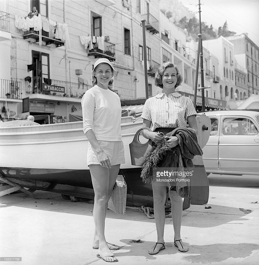 The actress Ingrid Bergman and her daughter Pia Lindstrom.jpg