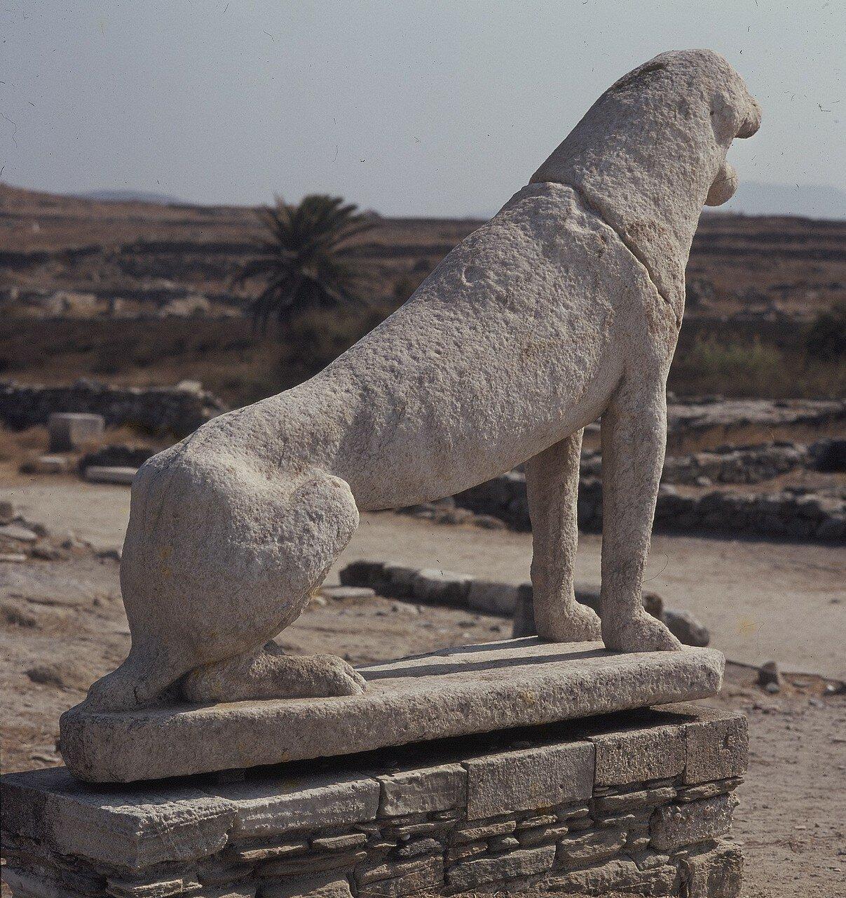 Делос. Лев, VII столетие до н.э. 1969