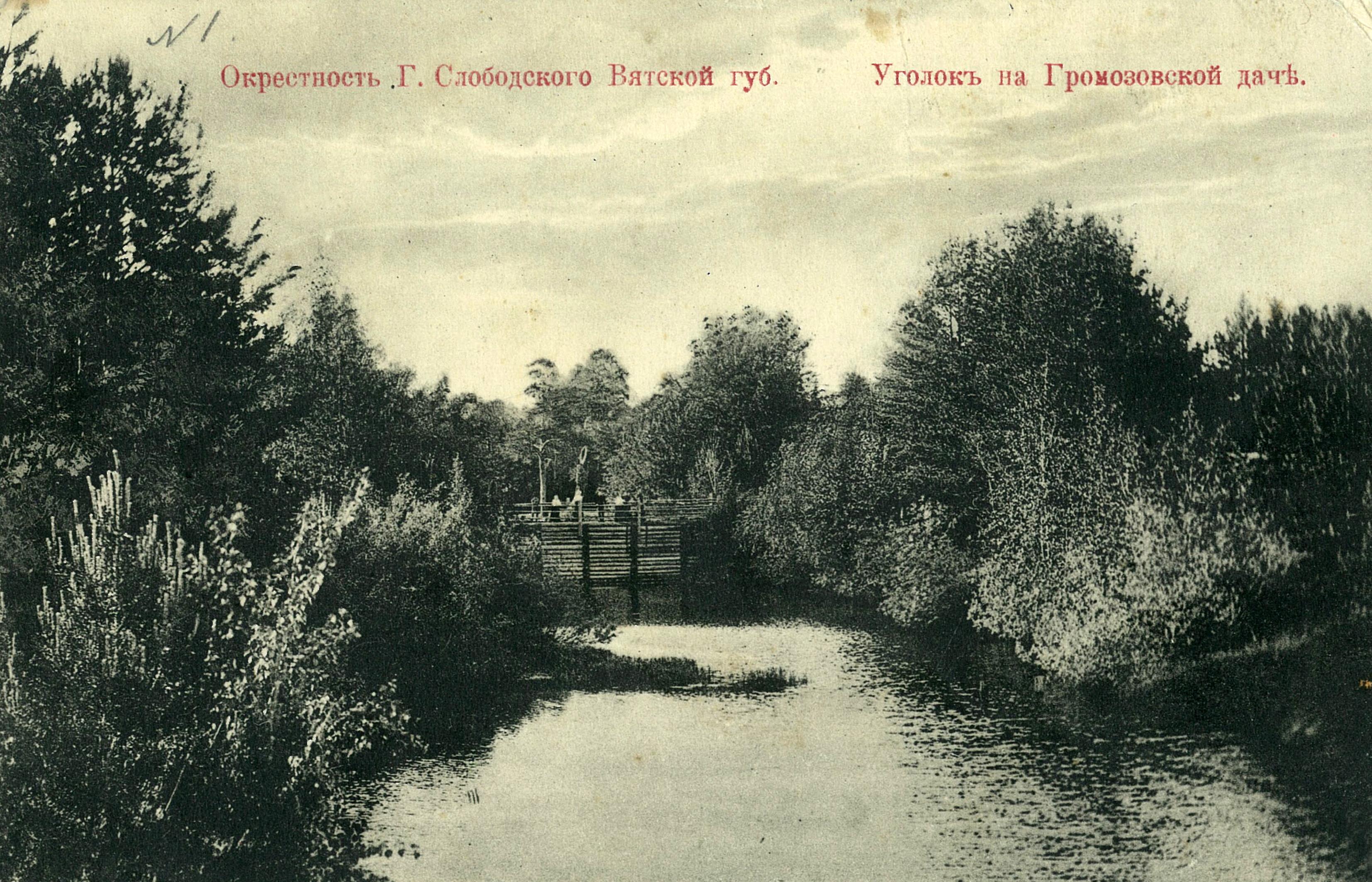 Окрестности Слободского. Уголок на Громозовской даче