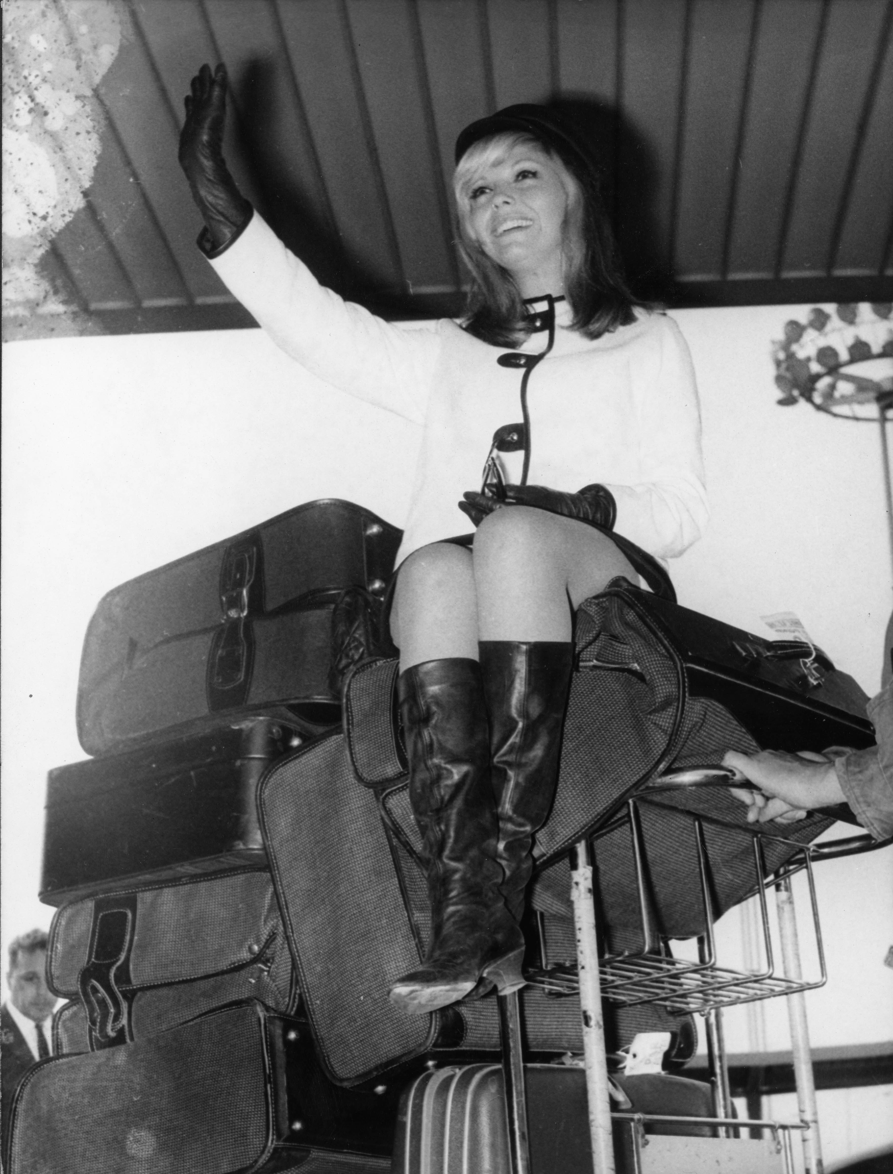 Singer Nancy Sinatra