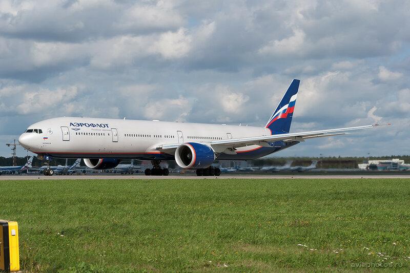 Boeing 777-3M0/ER (VQ-BQE) Аэрофлот 349_D704162a