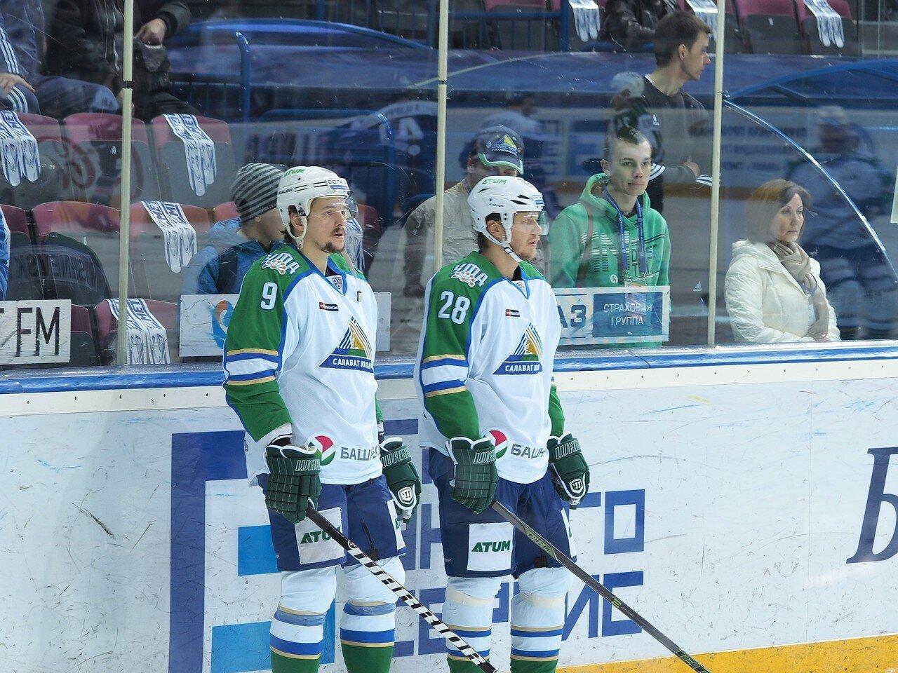 6Плей-офф 2016 Восток Финал Металлург - Салават Юлаев 31.03.2016