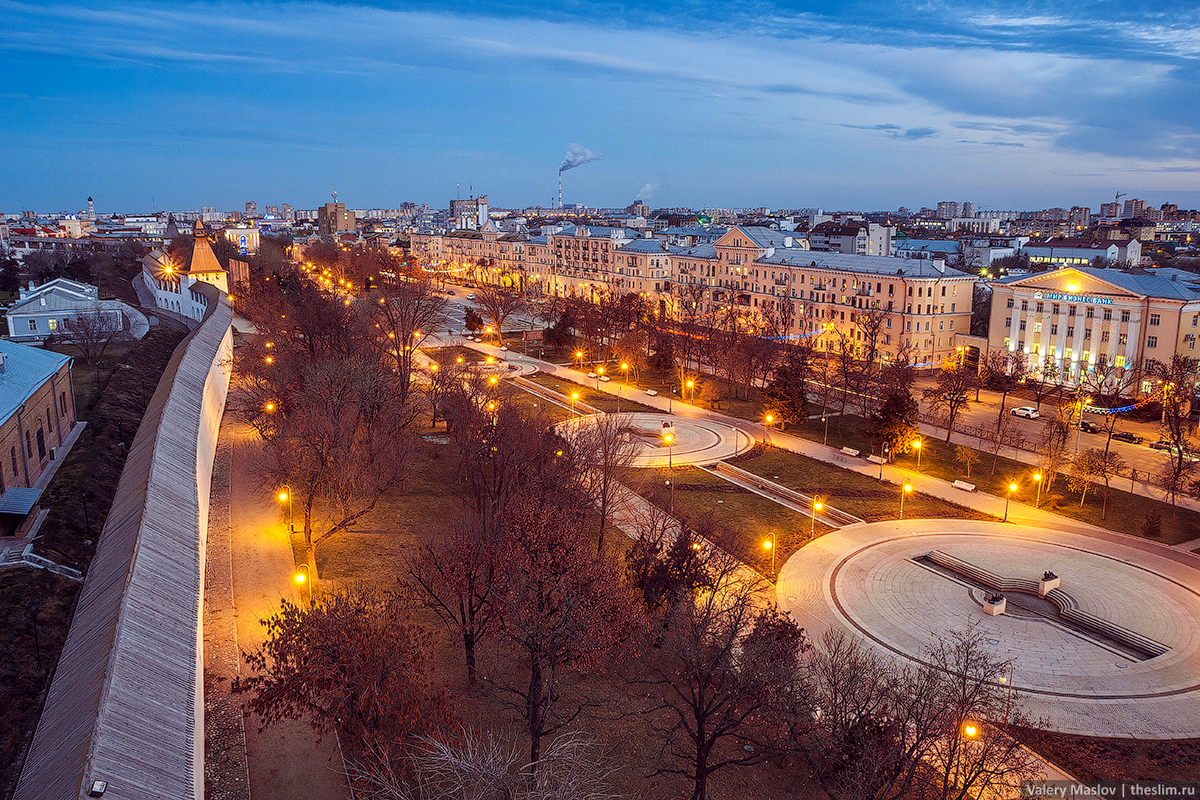 Панорама площади Ленина