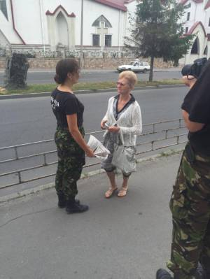 """В Тернополе продолжается еженедельная акция """"Долой захватчиков в рясах"""""""