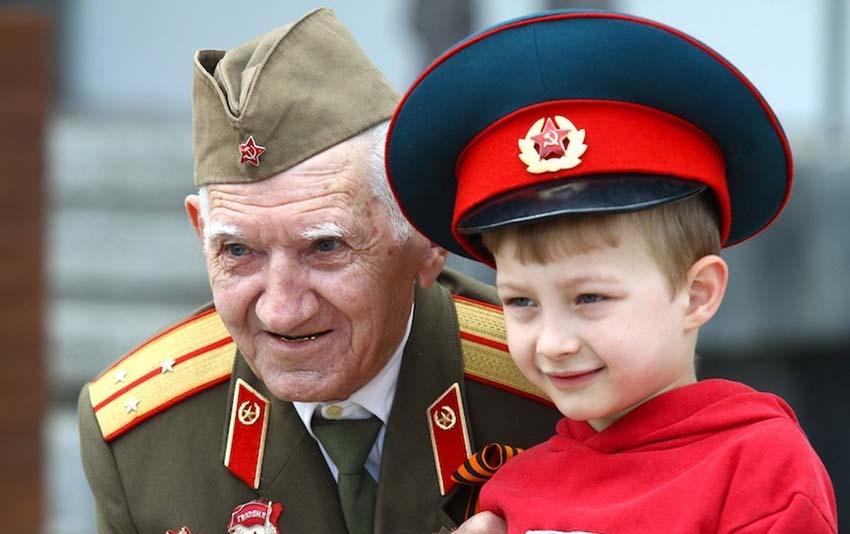 День Победы Ветеран и Дети